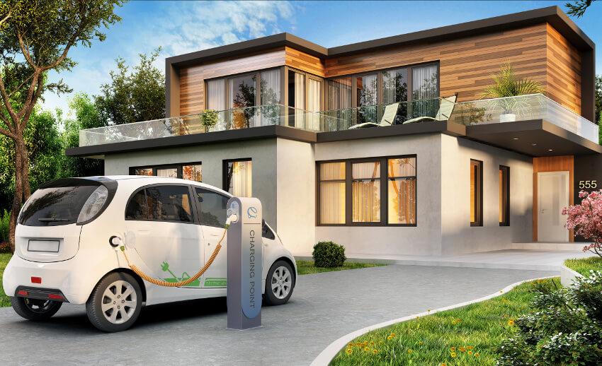 Elektroautos Reichweite