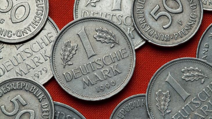 Sparbuch D-Mark - Deutsche Mark