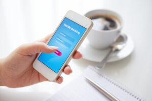 online banking smartphone