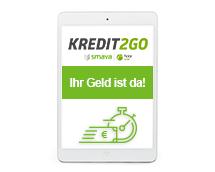 auszahlung kredit 2 go