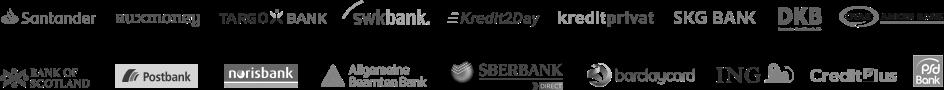 Partnerbanken-Logos
