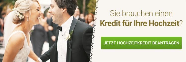 Hochzeitskredit beantragen
