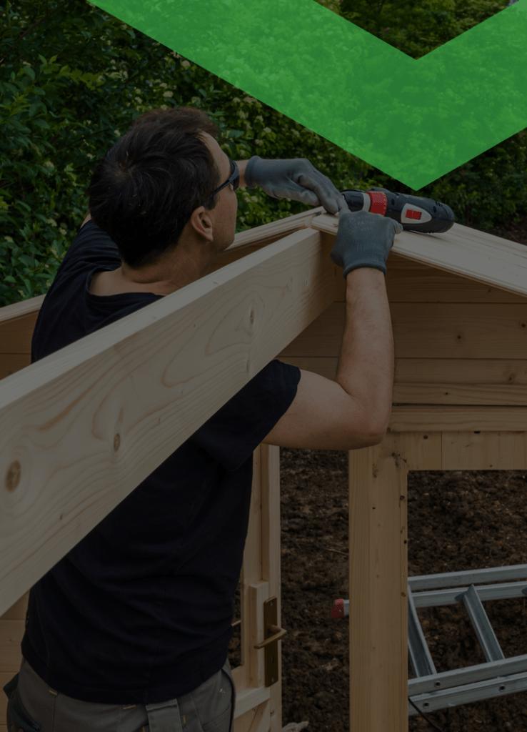Die Kosten für ein Gartenhaus